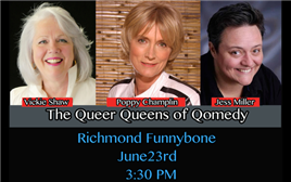 Queer Queens of Comedy VIP